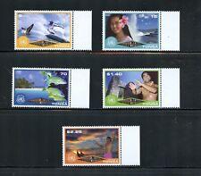Z958 Tonga 2002 Eco-tourism fish whales 5v. MNH