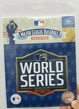 Official 2020 World Series Patch MLB Baseball Jersey Patch LA Dodgers Tampa Rays