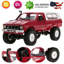 WPL C24 1/16 RC CAR CRAWLER OFF-ROAD 4WD PICK-UP TRUCK GIFT FOR KID RTR TOY X0I9