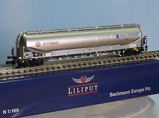 Liliput 265872, Spur N, DB Silowagen Typ Uacns ERMEWA  RSB-Logistic, Ep. 6