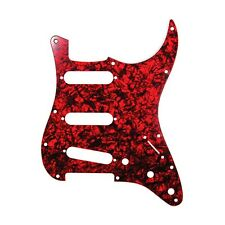 D'Andrea Pro Pickguard Strat Style Red Pearl - Made in the USA - Free Shipping