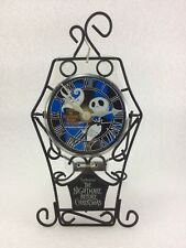C27 Vintage 2000 Nightmare Before Christmas Table Battery Clock  / Wall Hanging