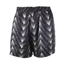 Selected Femme Shorts Black Jet Stream Kamille Silk Size 36 / UK 8 BF 153