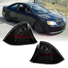 Winjet OE Factory Fit For 2001-2003 Honda Civic 2DR LED Brake Tail Lights Tint