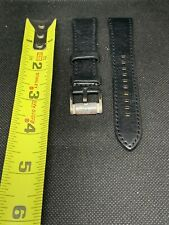 Fossil 18mm Genuine Leather Bracelet Watch Band 21mm @ Connector No Pins S125