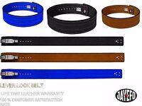 Jayefo Pro Weight Power Lifting Leather Lever Pro Belt Gym Training Powerlifting
