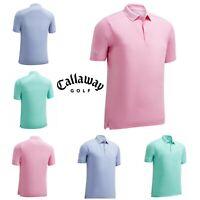Callaway 2019 Mens Hex Opti-Dri Stretch Golf Polo Shirt