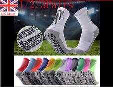 Men's Football Socks Anti Slip Non Slip Grip Pads Sports Soccer Trusox Style UK