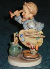 """The Artist"" Goebel Hummel Figurine #304 TMK4 Boy Painting ***ULTRA RARE***"