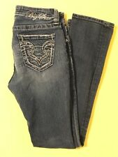 Very Nice! BIG STAR Kayla Straight Mid Rise Fit Size 27R