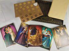 Disney Fairytale Designer Dolls Couples Princess Cards Set Ariel Belle Jasmine
