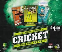 2018/19 Big Bash BBL08 WBBL04 Trading cards New Sealed Box Tap N Play