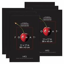 MCS Format Frame 11x17 Black Value 6 Pack (Same Shipping Any Qty)