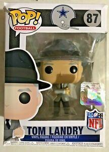 Funko POP NFL: Tom Landry (Cowboys Coach) #87 - Damaged Box