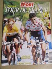 VELO : GUIDE DU TOUR DE FRANCE : 1998 : LE SPORT SPECIAL TOUR DE FRANCE