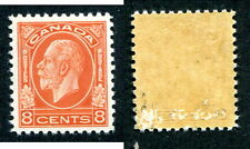 Mint Canada 8 Cent KGV Medallion Stamp #200 (Lot #6876)