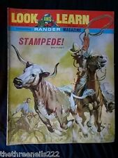 LOOK and LEARN # 392 - STAMPEDE - JULY 19 1969