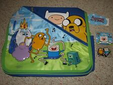 COOL!! ADVENTURE TIME MESSENGER BAG / TOTE BAG + FREE RUBBER KEYCHAIN BRAND NEW!