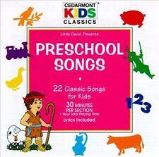 Preschool Songs Cedarmont Kids Audio CD