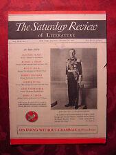 Saturday Review October 30 1937 JOHN BUCHAN FLETCHER PRATT