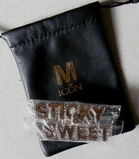 MADONNA * ICON FAN CLUB ONLY STICKY & SWEET KNUCKLE RING * HTF! * HARD CANDY