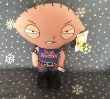 "PUNK ROCKER BABY STEWIE GRIFFIN SOFT TOY - FAMILY GUY TV SERIES 15"" Tall"