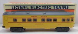 Lionel 6-16074 Union Pacific Livingston Observation Car NIB
