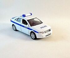 AUDI A4 POLICE CAR WELLY 1/38 DIECAST CAR MODEL,COLLECTIBLE , AUDI COLLECTION