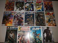 Box of G.I. Joe comics (Lot of 42 All pictured) Marvel DDP, Image, IDW, GI
