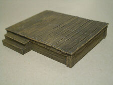 Wooden Stage Thomarillion Unpainted Resin Terrain D&D Dwarven Forge