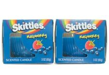 Skittles Raspberry Scented Candles Lot of 2