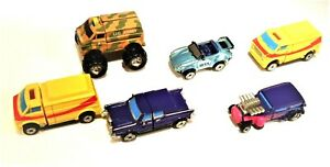 """6 MIXED GALOOB MICRO MACHINES """"IMPOSTERS"""" TRANSFORMING VEHICLES 3 WORK PERFECTLY"""