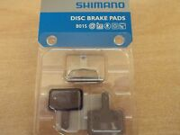 Genuine Shimano B01S Disc Brake Pads, Resin, for Acera, Alivio, Deore, M315 M355