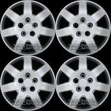 "4 fit Honda Civic 2005-2015 Bolt on 16"" Hub Caps Full Wheel Covers Steel Wheels"