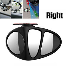 HD 3 Lenses Blind Spot Mirror 360° Adjustable Wide Angle Mirror For Car SUV