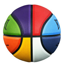 "Kuangmi Multicolor Street Basketball for Women Girls Intermediate Size 6 28.5"""