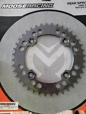 MOOSE RACING LTR450 REAR SPROCKET HARD ANODIZED ALUMINUM 40 TOOTH