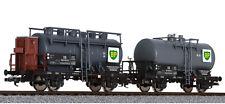 HS Liliput L230139 Zweiteiliges Kesselwagen-Set BP DB zum Hammerpreis
