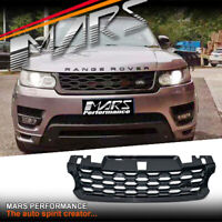 Black MY18 SVR Style Bumper Grille Grill for LAND Range Rover Sport L494 13-17
