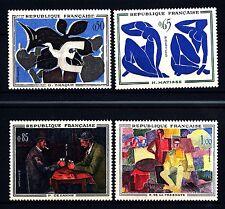 FRANCIA - Quadri di Francia - 1961 - Opere di pittori moderni. Quadri