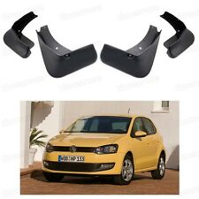 LSYBB 4 PCS Car Mudflaps Fender Mud Guard Flaps Splash Flap Accessories For Volkswagen VW Polo MK6 AW 2018 2019 2020