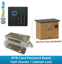 RFID Card Password based Cash Drawer / Cabinet Lock