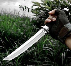 Japanese Tanto Knife Handmade Samurai Sword Tactical Hunting Survival blade Tool