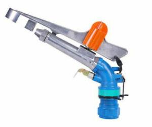 "2.5"" Alloy 360°Adjustable Impact Sprinkler Gun Water Irrigation Lawn Spray Gun"