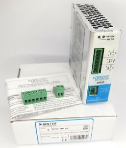 Nextys OR20 - DIN Rail 12-85V DC 20A Active Power Supply Redundancy Module - New