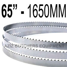 "Butchers Meat Bandsaw Blades (5 Pack). 65"" (1651mm) X 5/8"" X 4tpi"