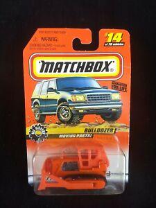 1998 Matchbox Bulldozer Series 2 #14  SEALED