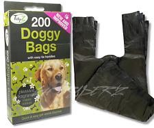 DOGGY BAGS Scented Pet Pooper Scooper Bag Dog Cat Poo Waste Toilet Poop UK SELER