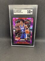 2019-20 Prizm Terance Mann Purple Ice Rc # 65/149 Clippers SGC 10 Comp PSA BGS