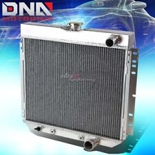 FOR 67-69 FORD MUSTANG/TORINO/LTD V8 3-ROW ALUMINUM RACING PERFORMANCE RADIATOR